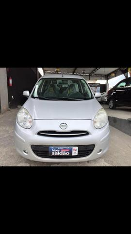 Nissan March Sv 1.6 2014 Completo