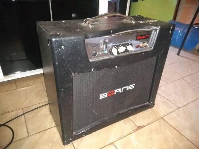 Amplificador borne clássico t7 valvulado - Foto 5