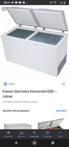 Vendo frizzer electrolux novo na caixa