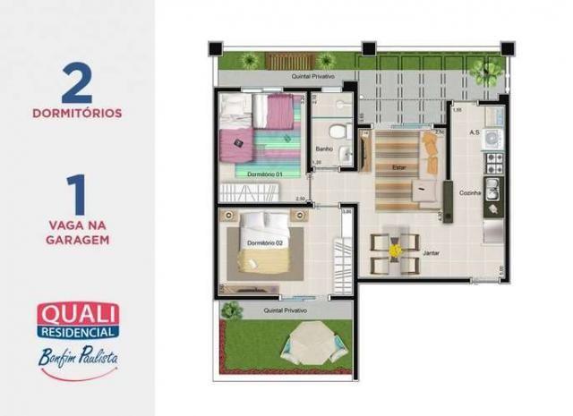Quali Residencial - Apartamento de 2 quartos em Bonfim Paulista - Ribeirão Preto, SP - Foto 19