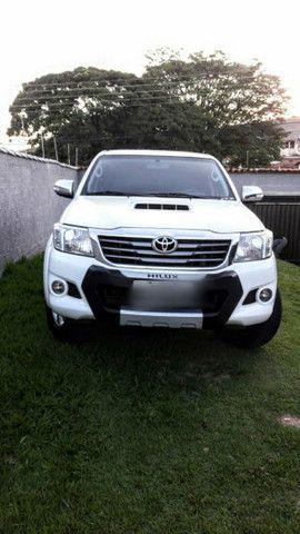 Vende-se Hilux 2012 SRV com todos opcionais e pouco rodada  - Foto 6
