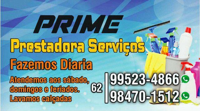 Prime Prestadora - Diarista/Limpeza/PosObra/Copeira/Encanador/Eletrisista - Foto 2