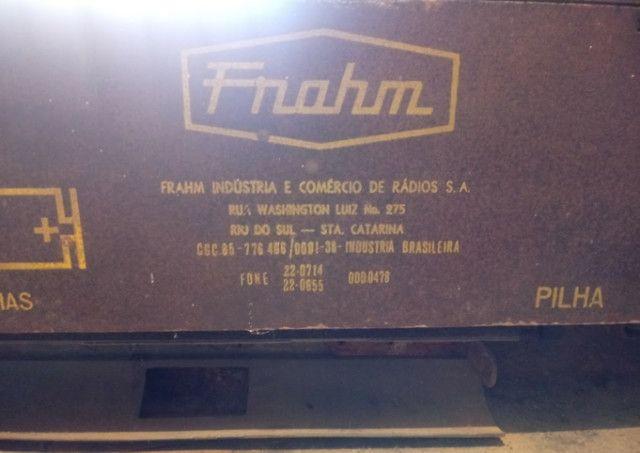 Rádio franhm modelo diplomata PL 72 - Foto 3