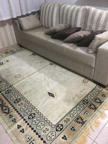 Sofá + almofadas + tapete  - Foto 2