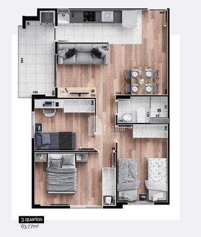 Apartamento 03 quartos no Campo Comprido, Curitiba - Foto 10