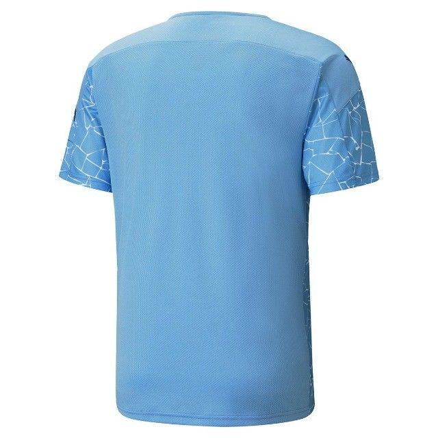 camisa manchester city azul - na embalagem - envio imediato - Foto 2