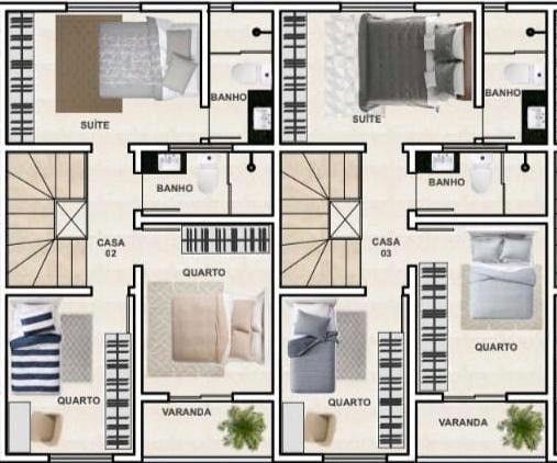 Casa Duplex à venda, 3 quartos, 1 suíte, 1 vaga, Itapoã - Belo Horizonte/MG - Foto 4