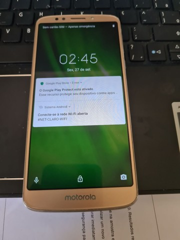 Smartphone Motorola Moto G6 DOURADO