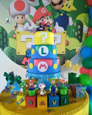 Bolo fake Super Mario (Mario bross) - Foto 3