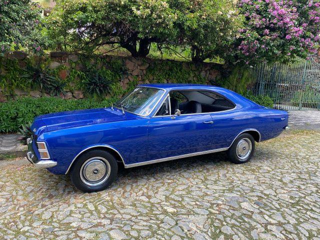 Opala 4cc 75 76 Placa Preta Colecionador Original