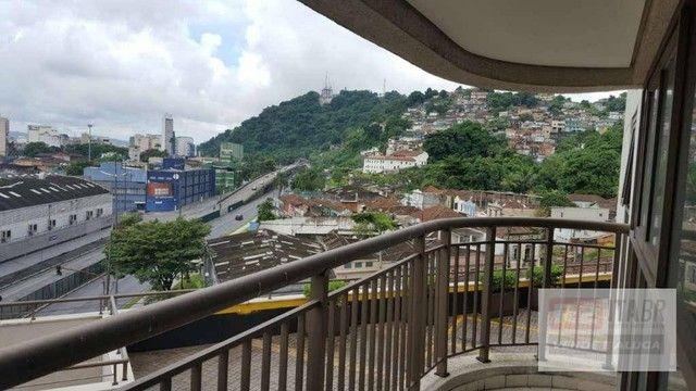 Conjunto, 43 m² - venda por R$ 180.000,00 ou aluguel por R$ 1.800,00/mês - Valongo - Santo - Foto 3