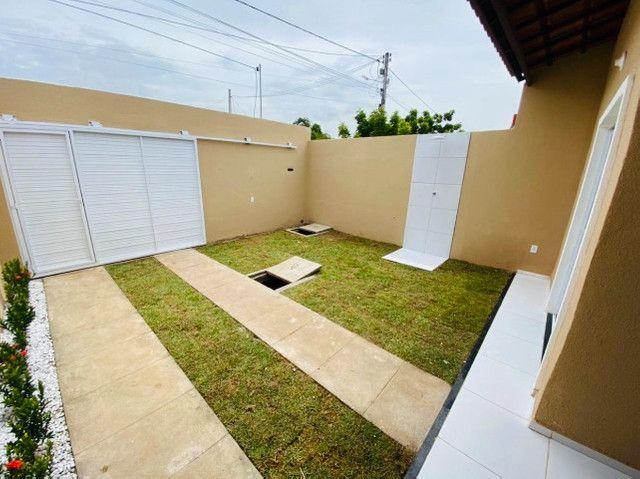 JP casa nova com 89m² com 2 quartos 2 banheiros a 15 minutos de messejana - Foto 3
