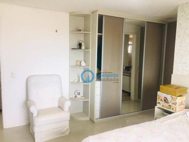 Apartamento com 3 dormitórios à venda, 135 m² por R$ 990.000 - Dionisio Torres - Fortaleza - Foto 12
