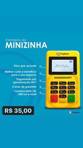 Minizinha NFC apenas (35,00) - Foto 2