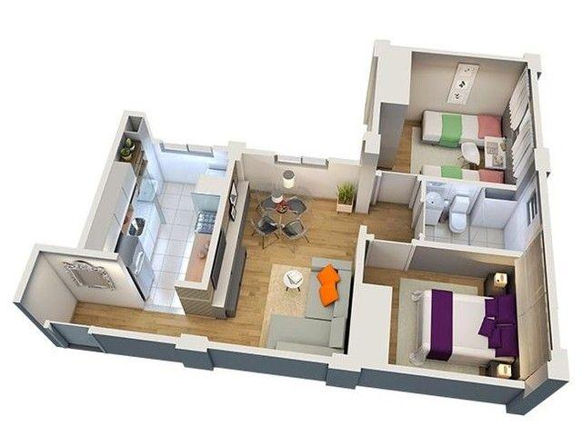 Apartamento em Jardim Imperial, Lagoa Santa/MG de 47m² 2 quartos à venda por R$ 139.000,00 - Foto 5