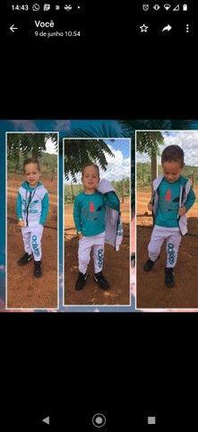 Conjuntos infantis estilo moletom - Foto 3
