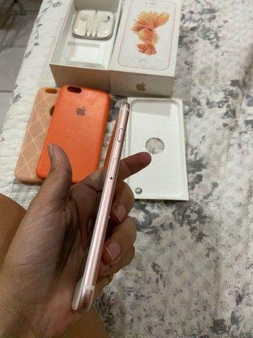 iPhone 6s 32 gb tenho nota fiscal - Foto 4