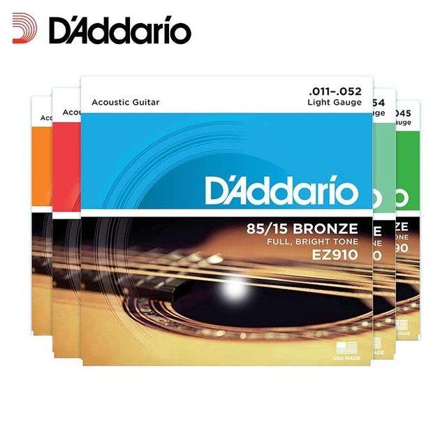 Cordas violão D'dario mega promoção - Foto 2