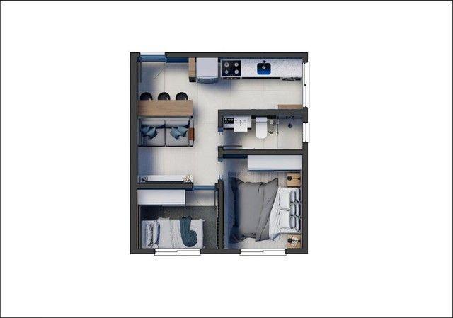 Apartamento em Cajuru, Curitiba/PR de 29m² 2 quartos à venda por R$ 189.900,00 - Foto 14