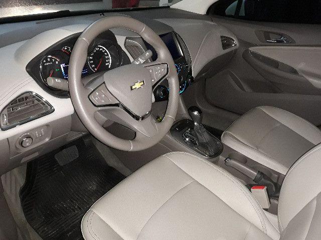 Cruze LTZ, Branco, 1.4 Turbo Flex. Carro em perfeito estado de conservacão. - Foto 5