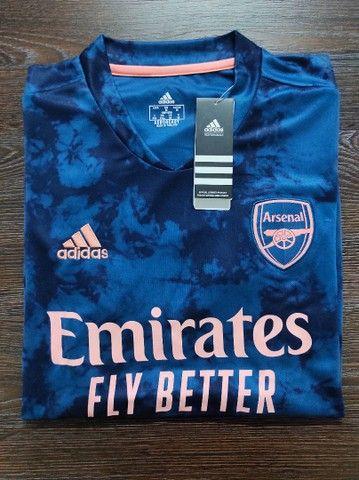 "Camisa Original do Arsenal ""M"" - Foto 2"
