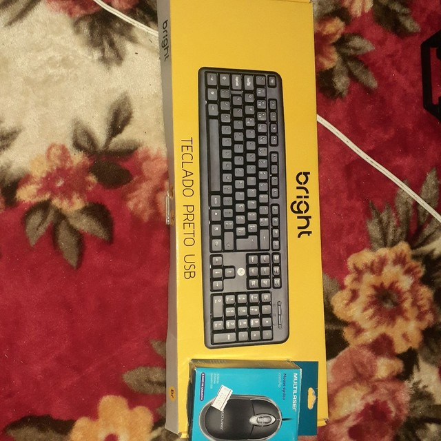 Teclado + Mouse Novos