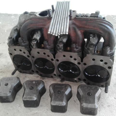 Peças do motor MWM série-10 VW 8140. Leia o anúncio