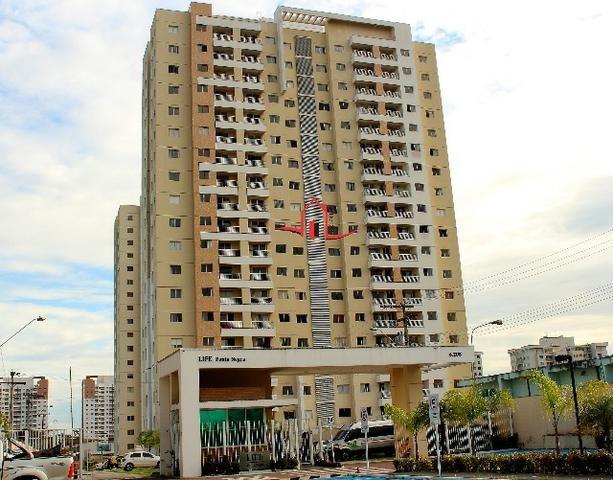 Life Ponta Negra - 85m² 3qtos, aceito lote no Passaredo e Tapajós como parte do pagamento
