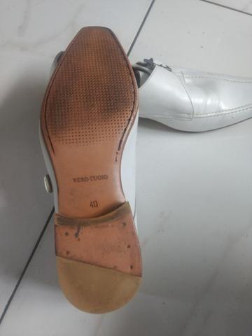 196a1dd34 Sapato social branco