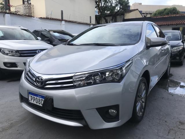 Toyota Corolla XEI 2.0 Automático + única dona revisões concessionária + Garantia fábrica