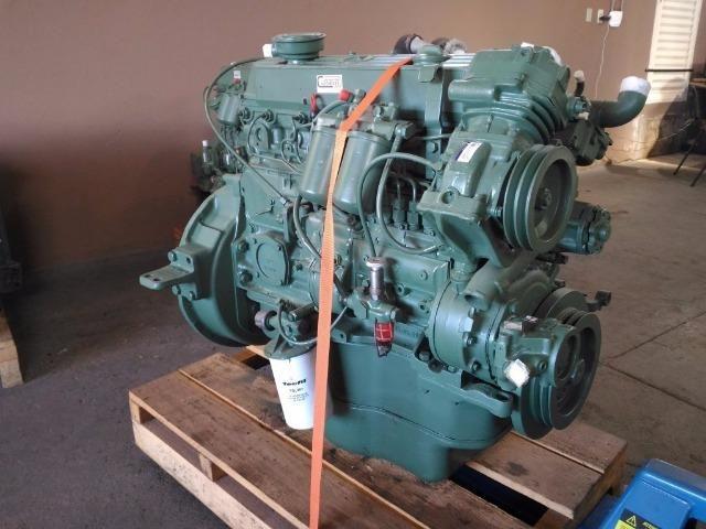 Motor Diesel Mercedes-benz Om 366 Em Ótimo Estado