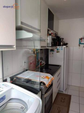 Lindo apartamento com 2 dormitórios à venda, 47 m² por r$ 195.000 - palmeiras de são josé  - Foto 7
