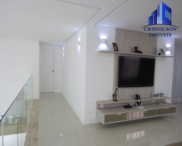 Casa à venda alphaville salvador ii, nova, r$ 2.400.000,00, piscina, espaço gourmet! - Foto 9