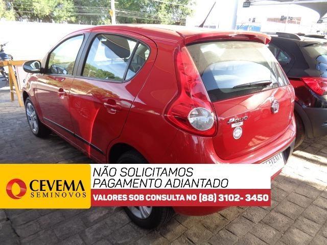 Fiat Palio Attractive 1.4 - Vermelho - Foto 4