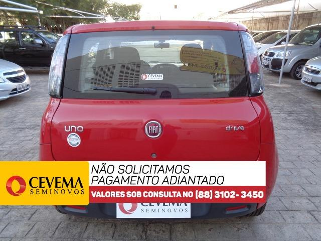 Fiat Uno Drive 1.0 - Vermelho - Foto 5