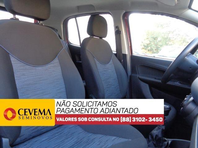 Fiat Uno Drive 1.0 - Vermelho - Foto 7