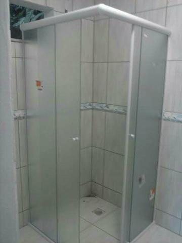 Box de banheiro promoção relâmpago 200.reais m2 avista estalado - Foto 4