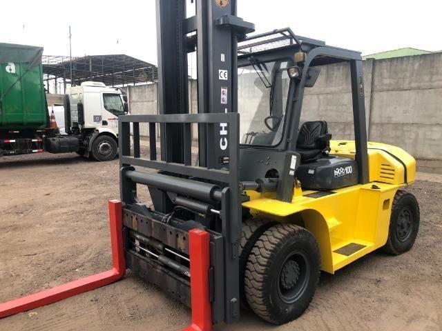 Empilhadeira 7 toneladas CHL 2012 diesel