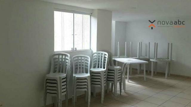 Apartamento para alugar, 47 m² por R$ 1.200,00/mês - Vila João Ramalho - Santo André/SP - Foto 7