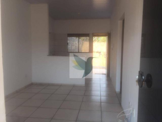 Casa com 2 dormitórios para alugar, 60 m² por r$ 650/mês - cascata - Foto 2