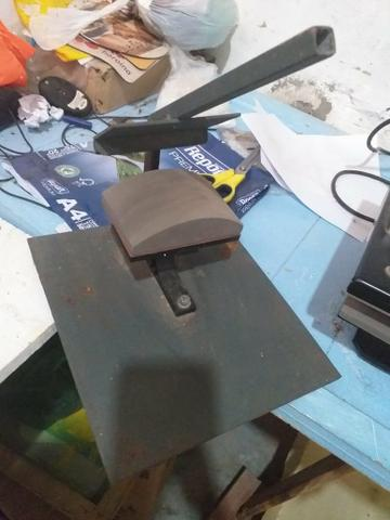 Prensa pra Sublimação, 8x1 e mais uma Impressora pra tintas sublimaticas Epson - Foto 4