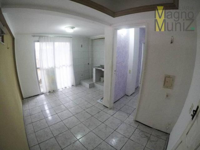Kitnet com 1 dormitório à venda por r$ 125.000 - cocó - fortaleza/ce