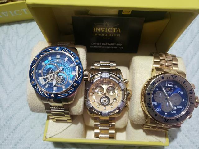 Coleção relógios INVICTA Originais - Foto 3
