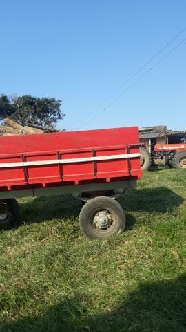 Carroça de 6 toneladas valor 11mil - Foto 2
