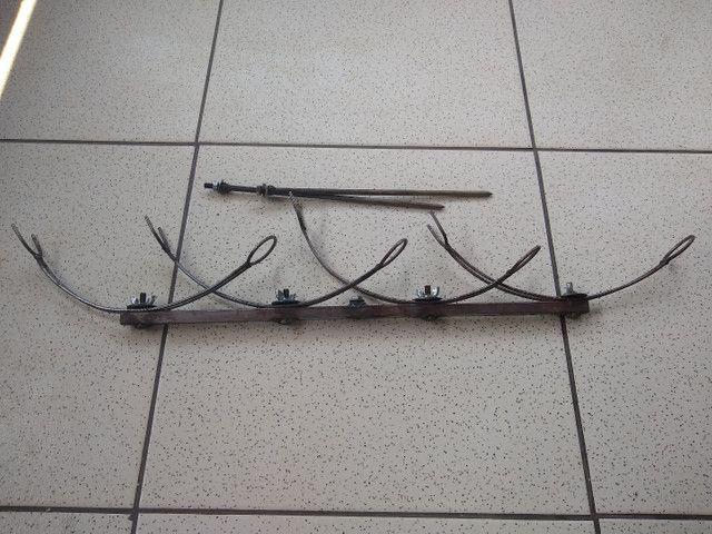 Suporte de varas de pesca. - Foto 4