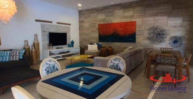 Casa com 5 dormitórios à venda, 350 m² por R$ 1.200.000 - Porto das Dunas - Aquiraz/CE - Foto 19