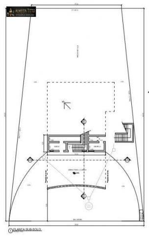 Excelente Mansão Para Locação ? Residencial Alpha 8 ? Área de Terreno 850 m² e Área Constr - Foto 15