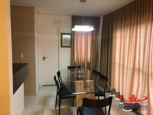 Apartamento com 3 dormitórios à venda, 136 m² por R$ 650.000,00 - Porto das Dunas - Aquira