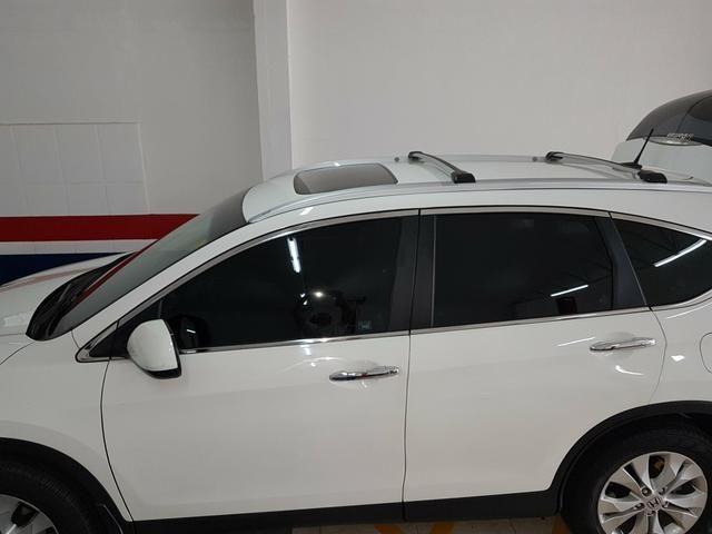 CRV 2012 4x4, EXL, teto solar, u.dona, bx km, estepe zero, couro, autom., impecável - Foto 4