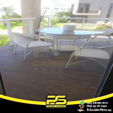 Casa com 4 dormitórios à venda, 460 m² por R$ 2.200.000,00 - Altiplano Cabo Branco - João  - Foto 13